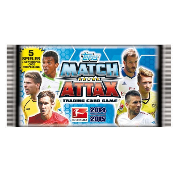 Bild von Topps Match Attax 14/15 - Sammelkarten