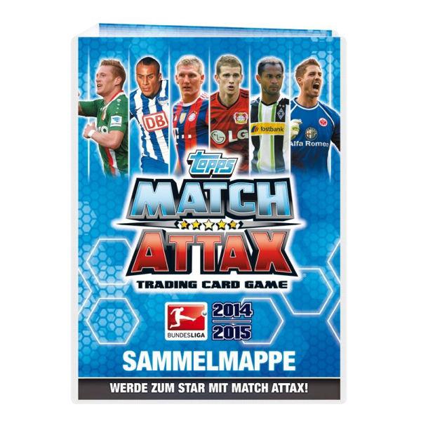 Bild von Topps Match Attax 14/15 - Sammelalbum