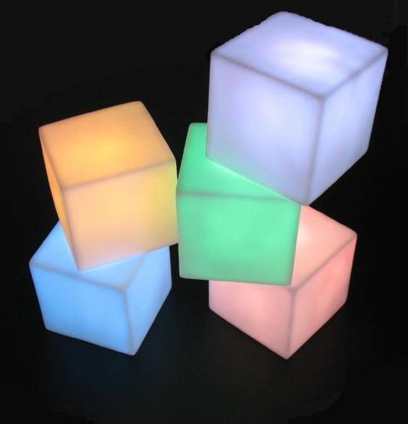 Bild von LED Deko Würfel
