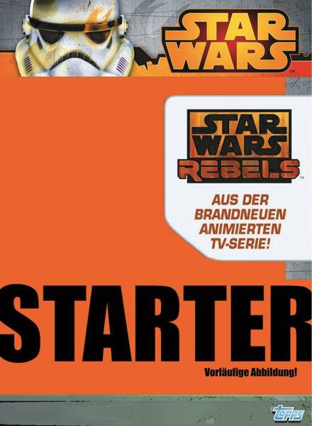 Bild von Star Wars Rebel Attax 1 - Starter