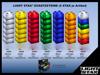Bild von LIGHT STAX-Zusatzsteine BLAU (6 STAX)