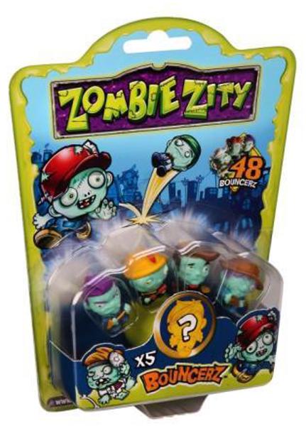 Bild von Zombie Zity Bouncerz - Sammelfiguren - 5er Set