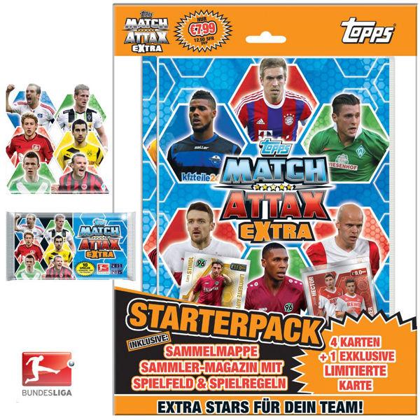 Bild von Topps Match Attax Extra 14/15 - Starter
