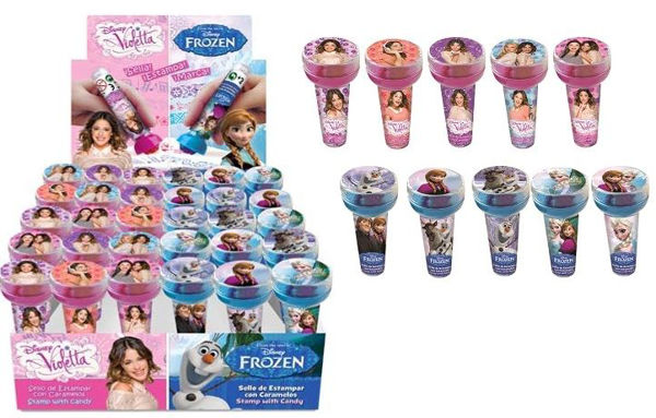 Bild von Stempel Frozen & Violetta