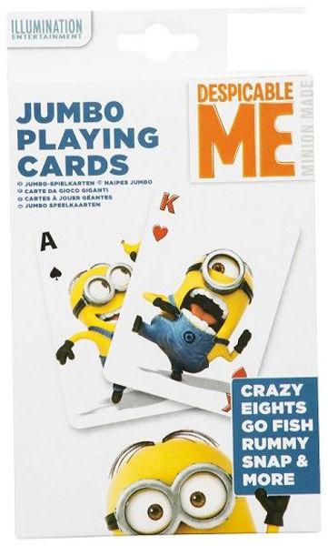 Bild von Jumbo-Kartenspiel Minions