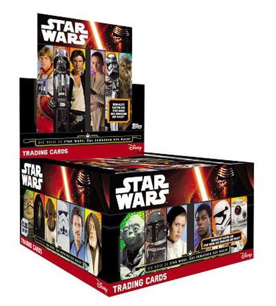 Bild von STAR WARS The Force Awakens Sammelkarten