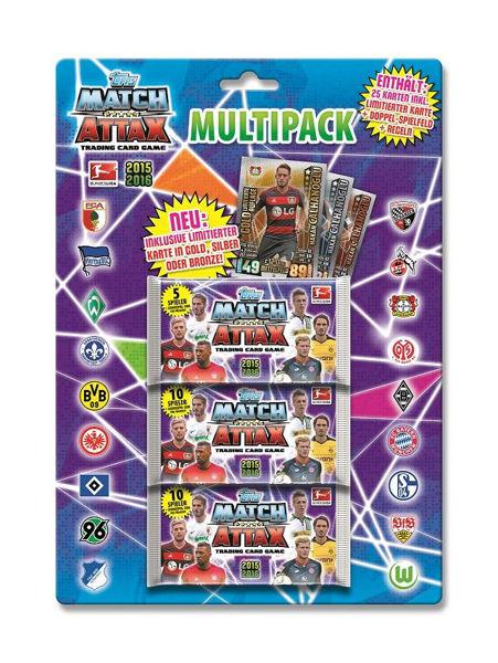 Bild von Match Attax Multipack 15/16