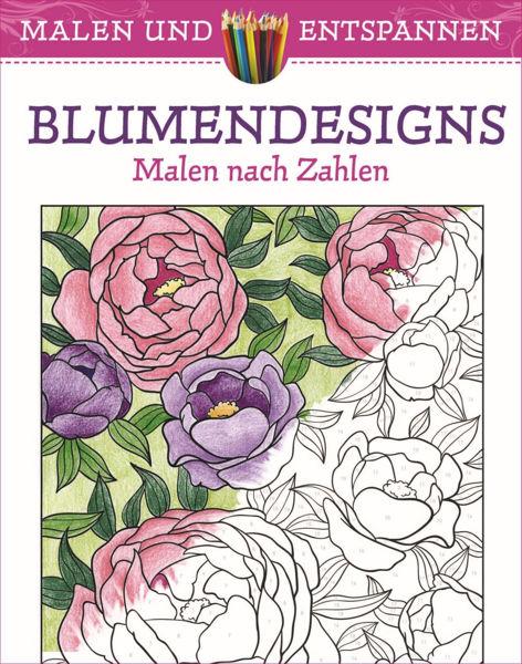 Bild von Malen und entspannen: Blumendesings