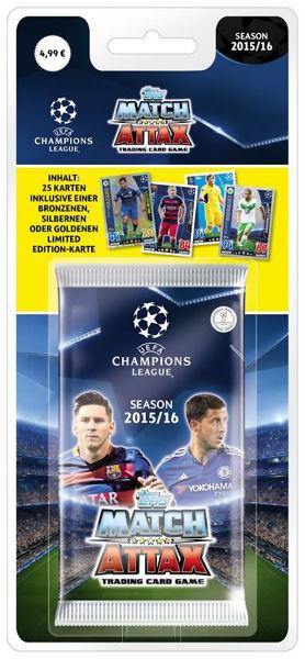 Bild von Champions League Blister 15/16