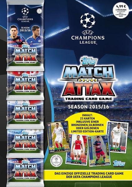 Bild von Champions League Multipack 15/16