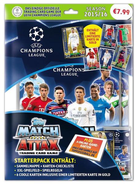 Bild von Champions League Starterpack15/16