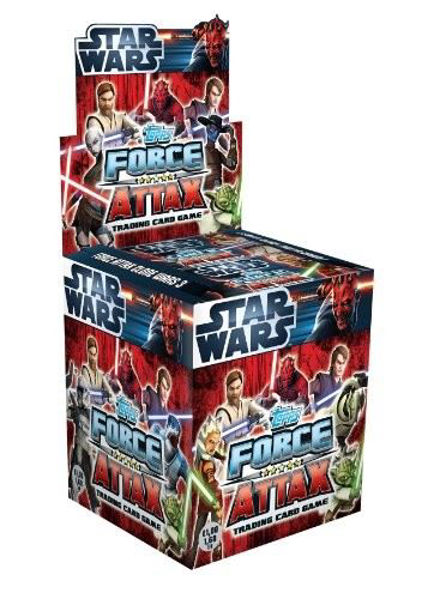 Bild von STAR WARS FORCE ATTAX Serie 3