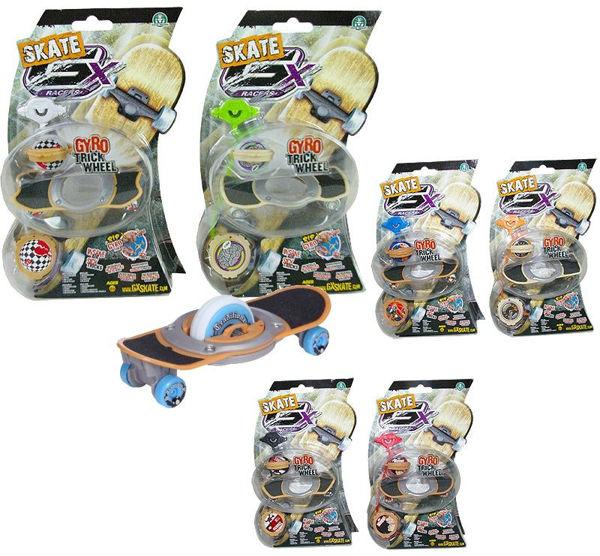 Bild von Gyro Trick Wheel Skateboard 6-fach sortiert GX Racers