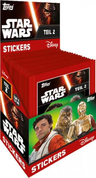 Bild von Star Wars Erwachen der Macht 2 - Sticker