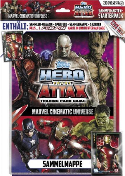 Bild von Marvel Hero Attax Starter