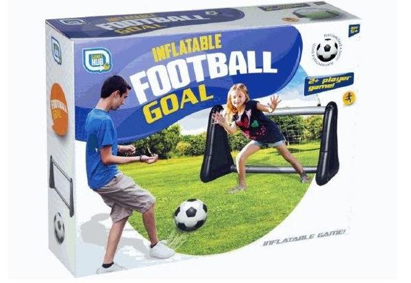 Bild von Fußball Tor - aufblasbar