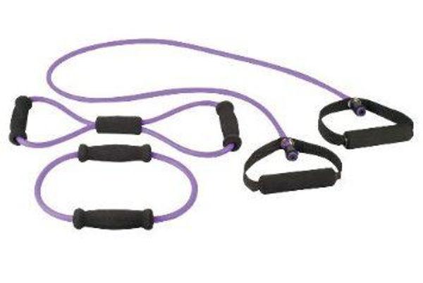 Bild von Hudora Fitness-Expanderset 3-teilig, lila