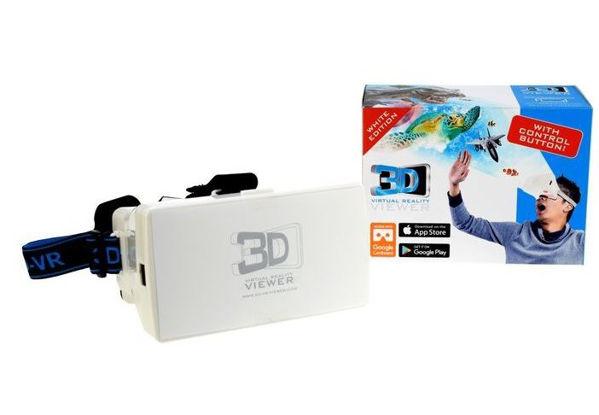 Bild von Virtual Reality Brille (VR Brille, weiss)