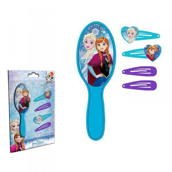 Bild von Frozen Haarbürste inkl.  Haarspangen