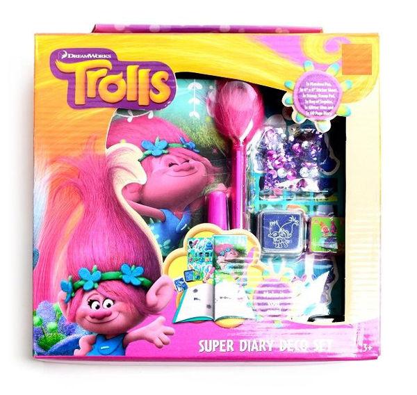 Bild von TROLLS DIY Tagebuchset in Box