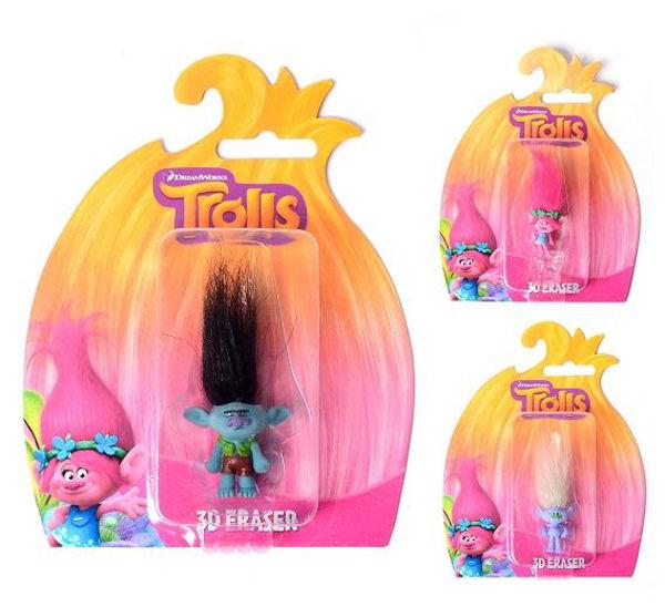 Bild von TROLLS 3D Radiergummi
