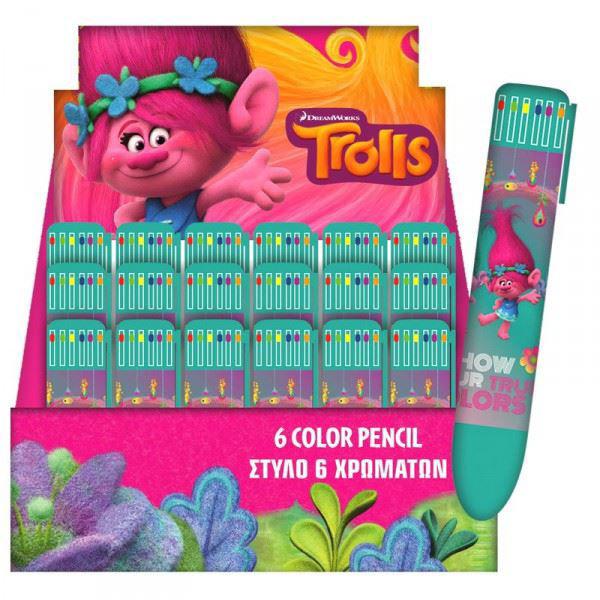 Bild von TROLLS Multicolor Pen
