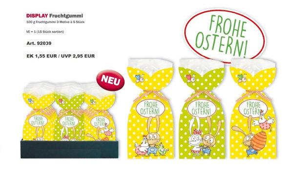 """Bild von DISPLAY Fruchtgummi """"Frohe Ostern"""""""