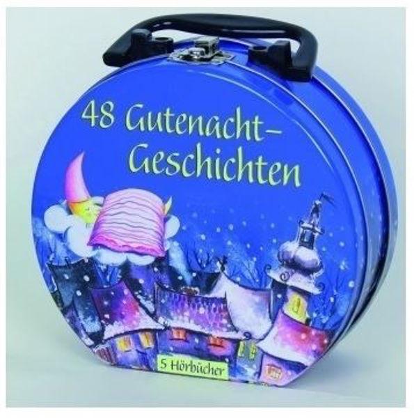 Bild von 48 Gutenacht Geschichten Hörbuch-Koffer