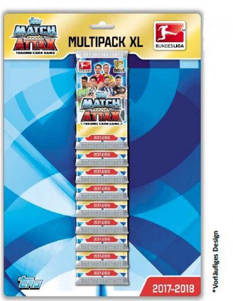 Bild von Match Attax Multipack 2017/2018