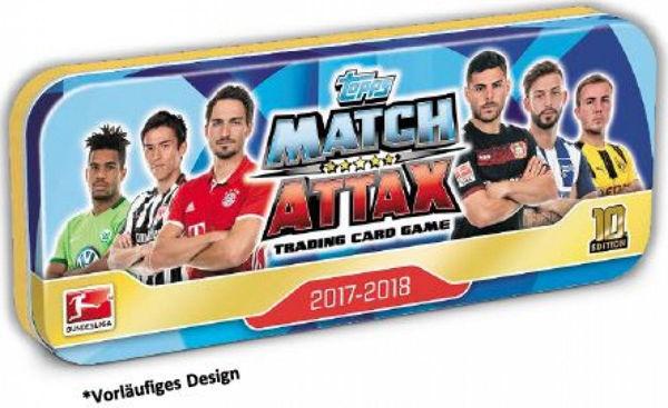 Bild von Match Attax Mini-Tin 2017/2018