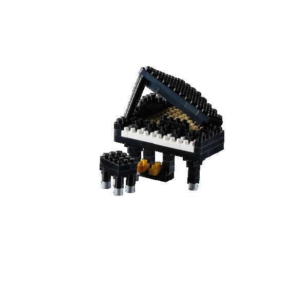 Bild von BRIXIES Klavier (Flügel) schwarz