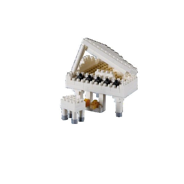 Bild von BRIXIES Klavier (Flügel) weiß