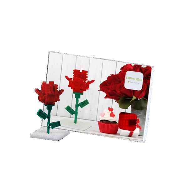 Bild von BRIXIES Postkarte Blume