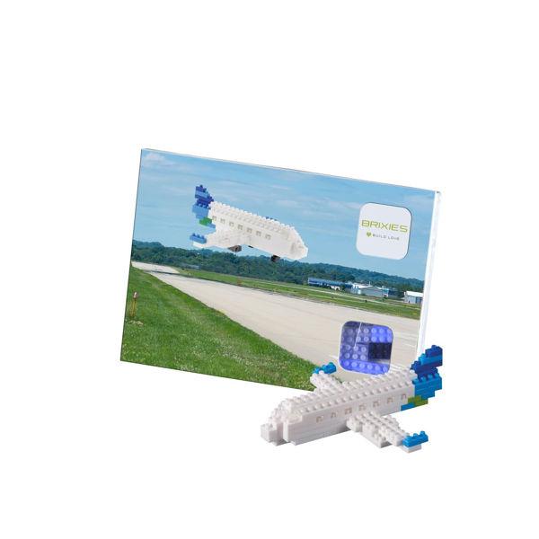 Bild von BRIXIES Postkarte Flugzeug