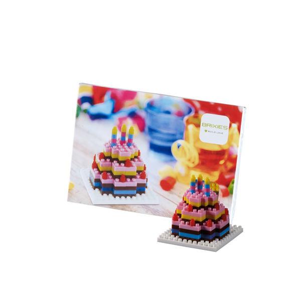 Bild von BRIXIES Postkarte Geburtstagskuchen
