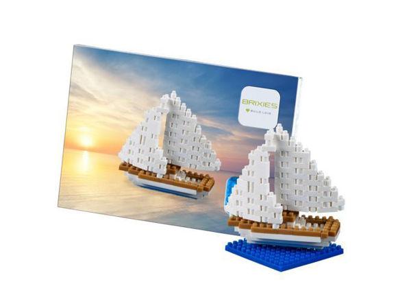 Bild von BRIXIES Postkarte Segelschiff