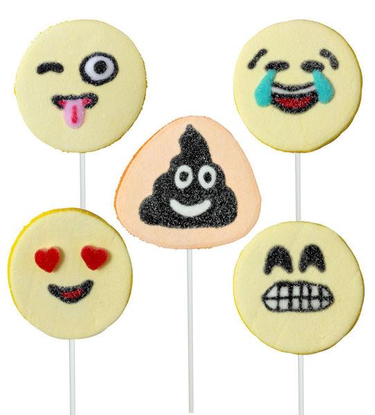 """Bild von Marshmallow """"Emoji Lollipop"""""""