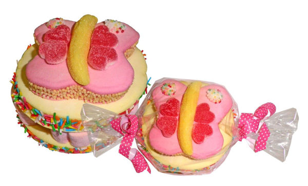 "Bild von Marshmallow ""Bufferfly Cake"""