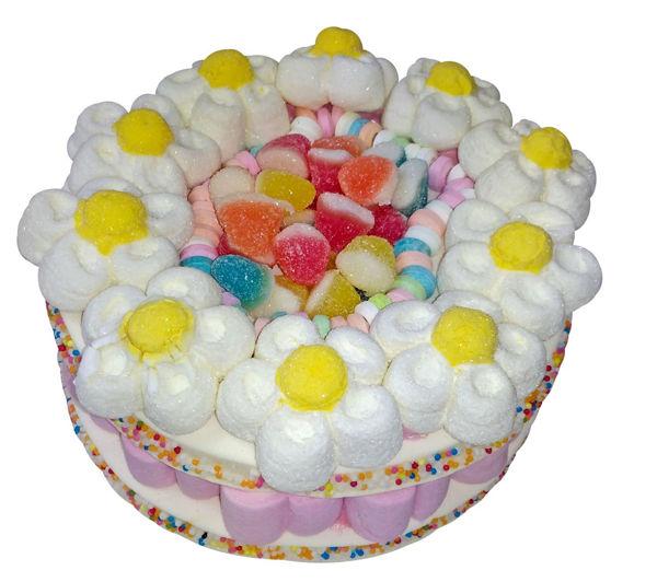 """Bild von Marshmallow """"Flower Power Cake"""""""