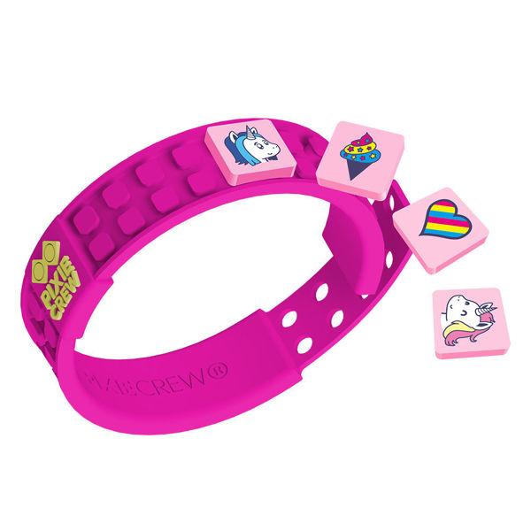 Bild von Pixie Crew - Armband, pink, Unicorn