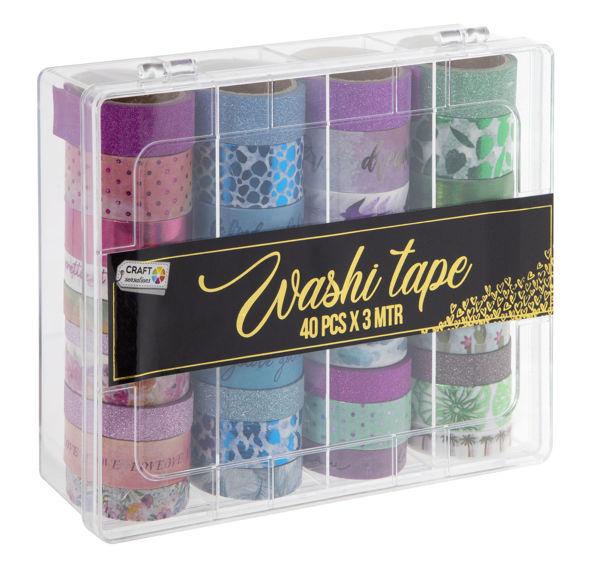 Bild von Washi Tape Set XL, 40 Stück