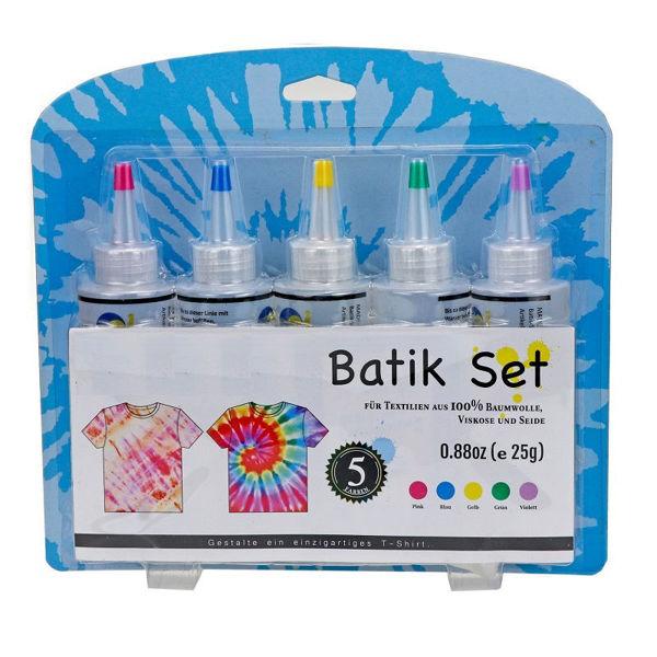 Bild von Batik Farben - 5er Set